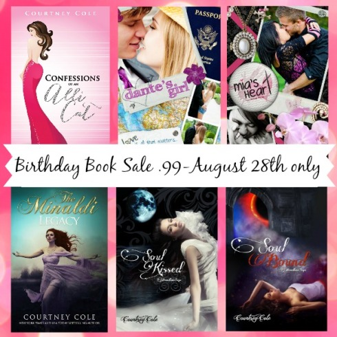 Birthday book Sale Banner